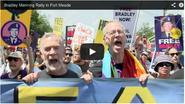 Ft. Meade Protest