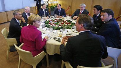g7 leaders dining