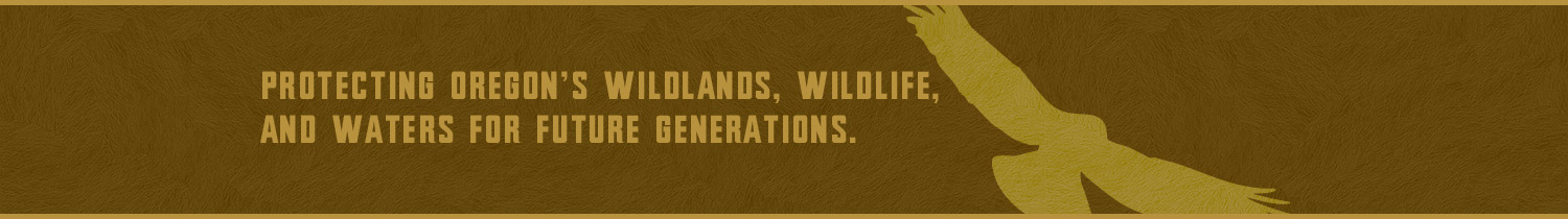 Oregon Wild tagline