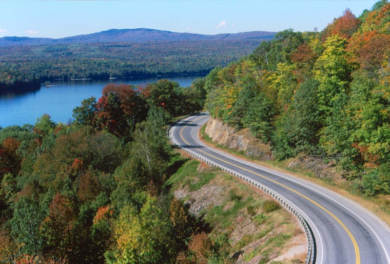 scenic byway in the Ozarks