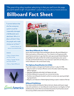 Billboard Fact Sheet cover