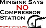 Stop the Minisink Compressor Station
