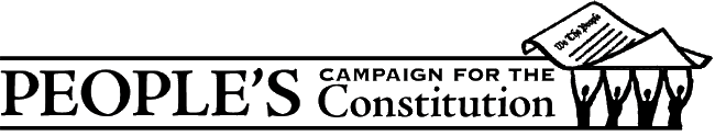 People's Campaign for the Constitution