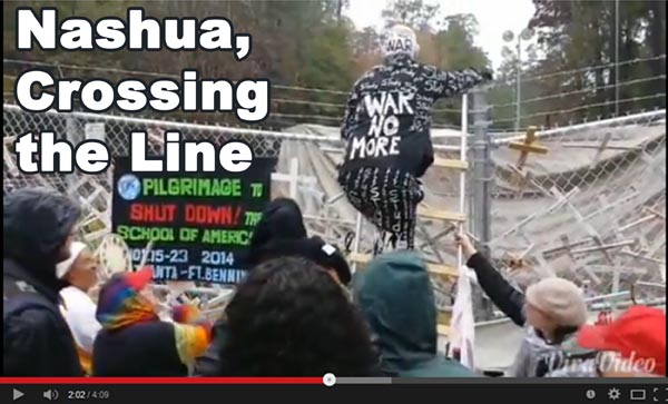 Nashua Crossing the Line